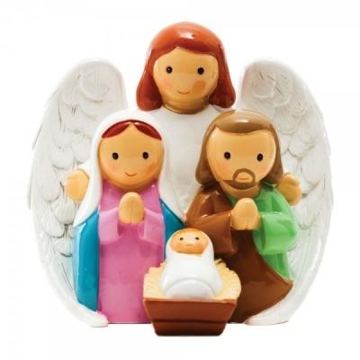 Sagrada Família com Anjo da Guarda