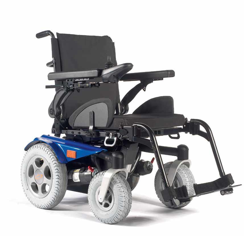 Cadeira de Rodas Elétrica Salsa R2