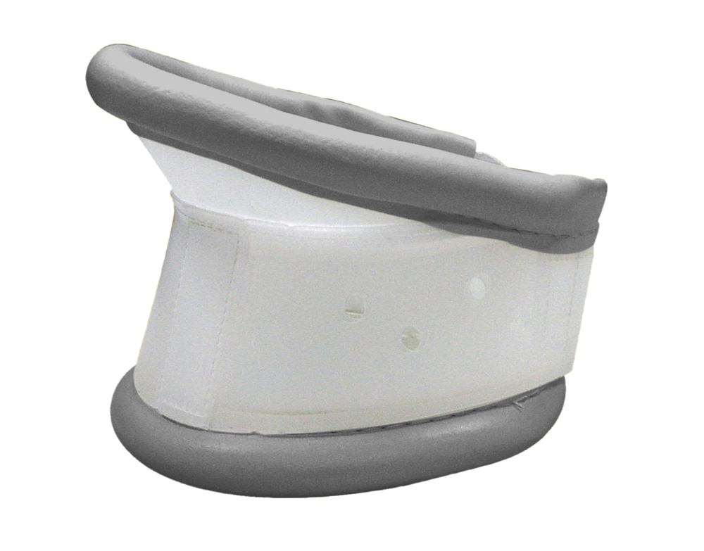 Colar Cervical Rígido Regulável com Apoio de Queixo