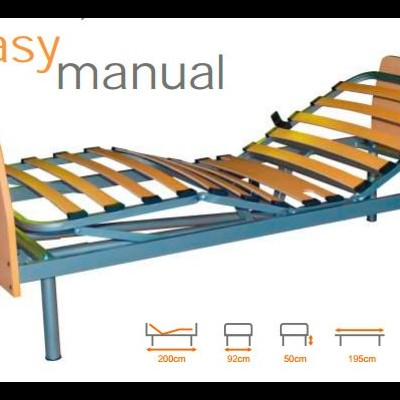 Cama Hospitalar Manual Fantasy Orthos XXI