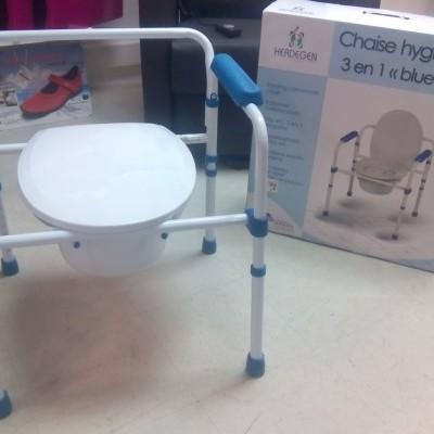 Cadeira Sanitária 3 em 1
