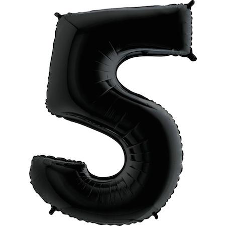 Balão Gigante 5 Preto