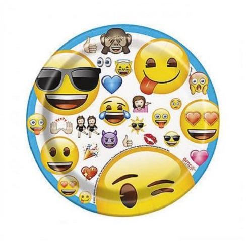 Pratos Emojis Pequenos