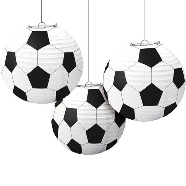Bolas de Papel Decorativas Futebol