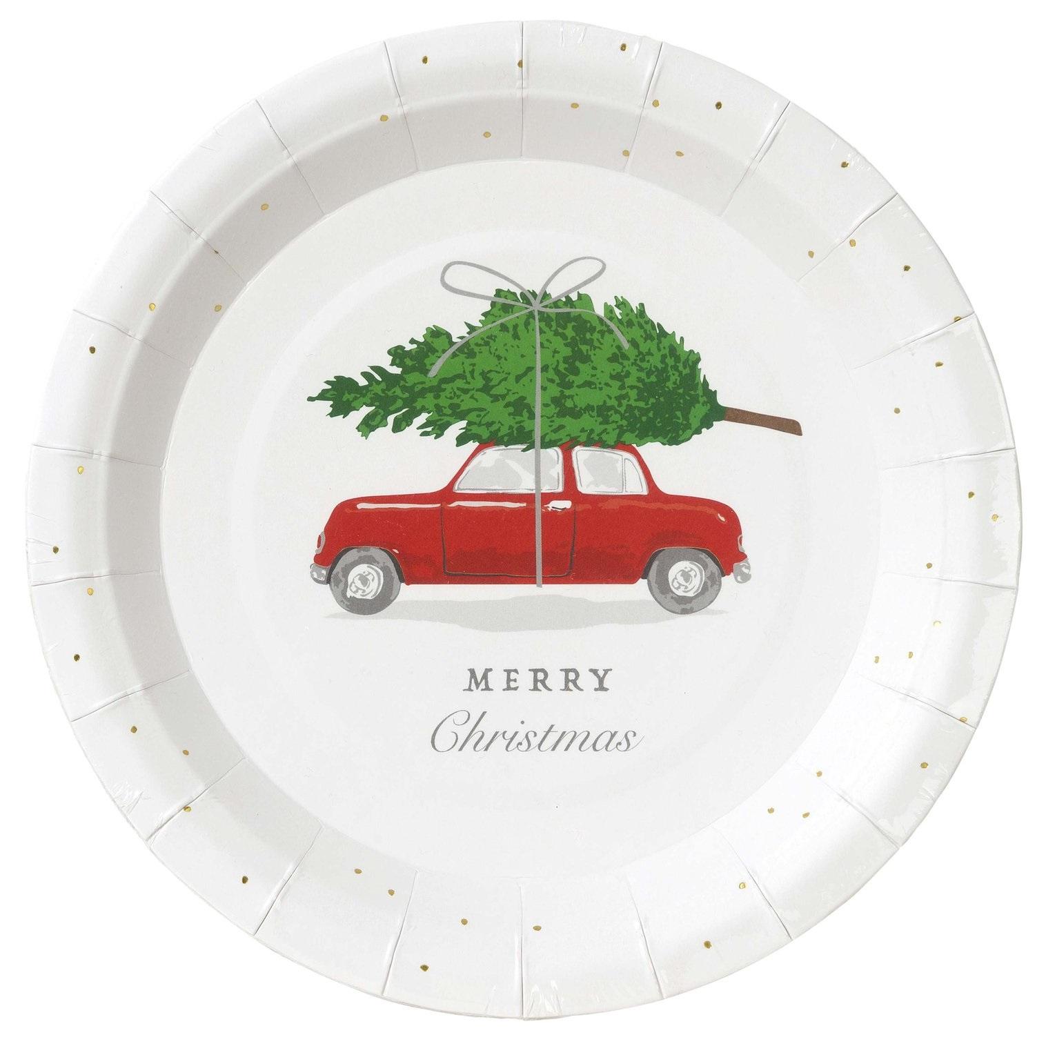 Pratos Natal Carro