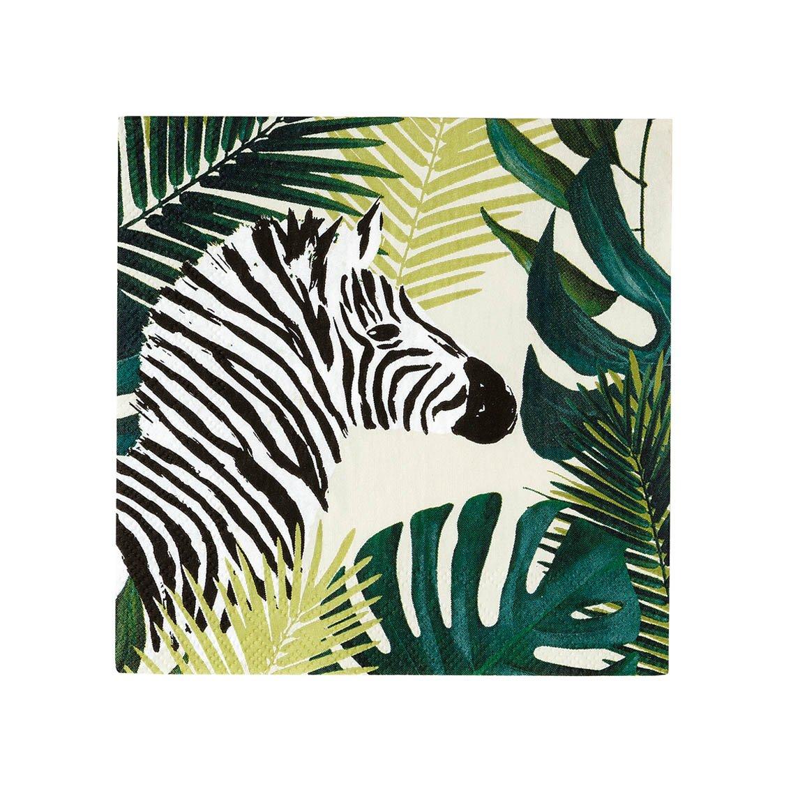 Guardanapos Tropical Zebra