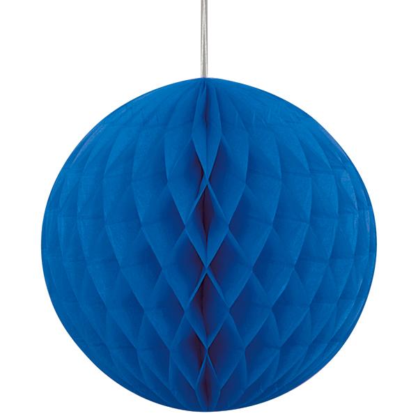 Bola de Papel Azul Escuro