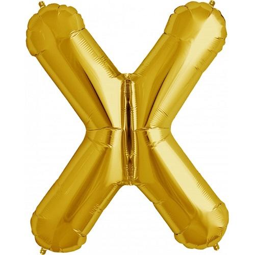 Balão X Dourado