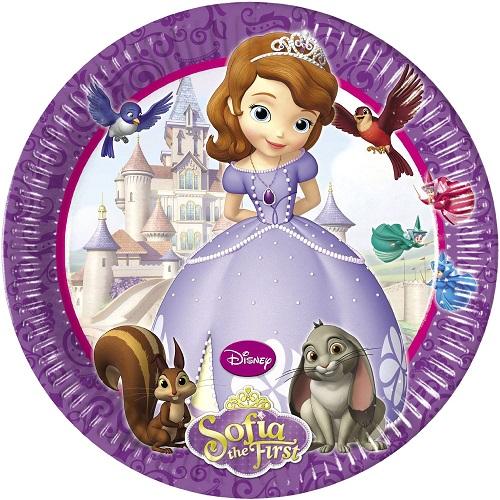 Pratos Princesa Sofia Grandes
