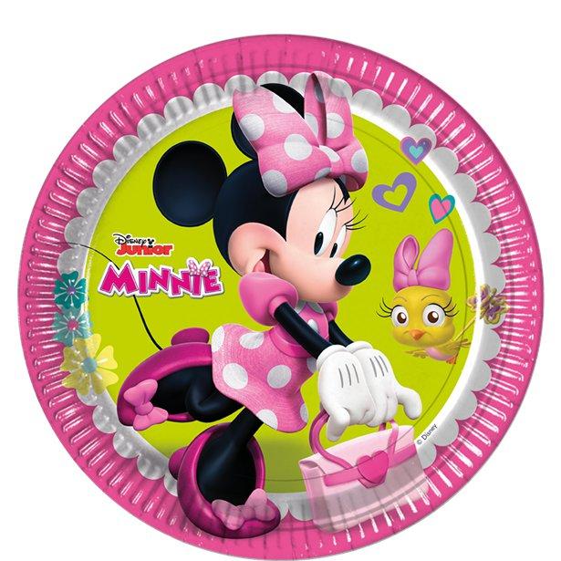 Pratos Minnie Rosa