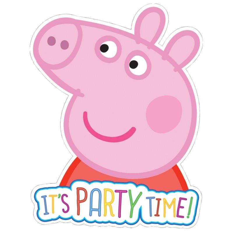 Convites Porquinha Peppa