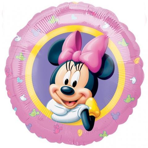 Minnie Rosa Balão Médio