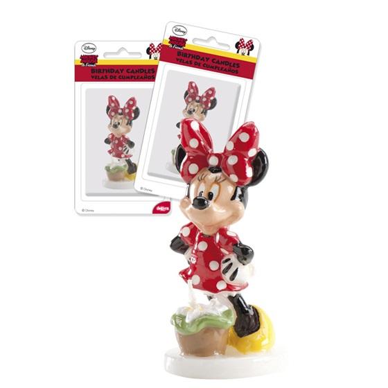 Vela Figura Minnie 3D
