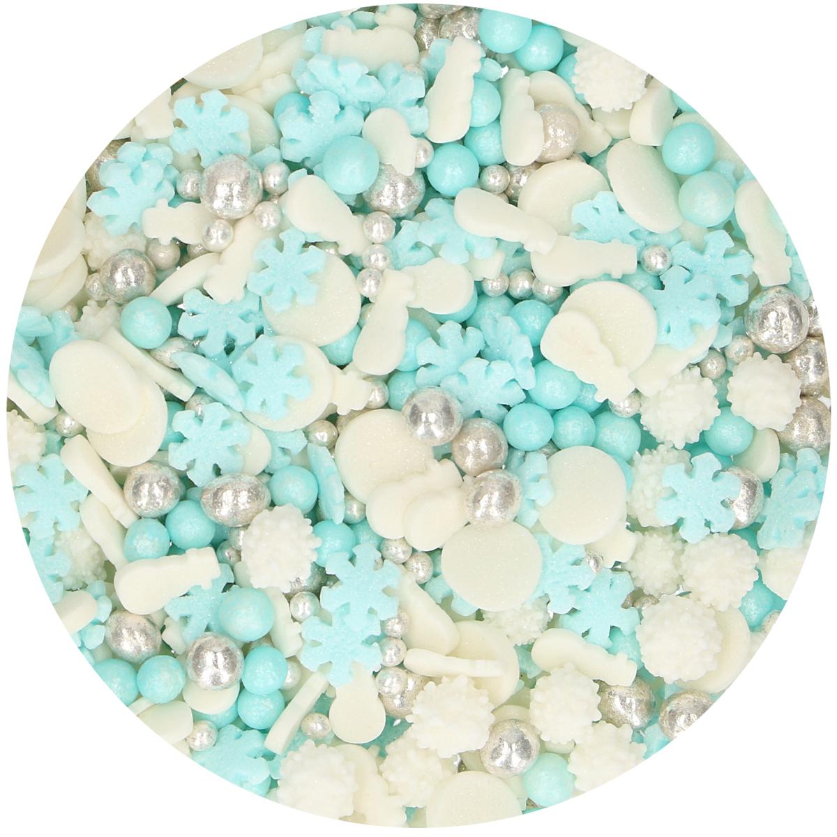 Confetis Açúcar Mistura Frozen