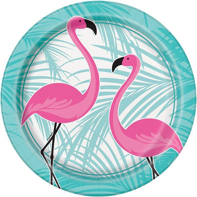 Pratos Flamingo Grandes