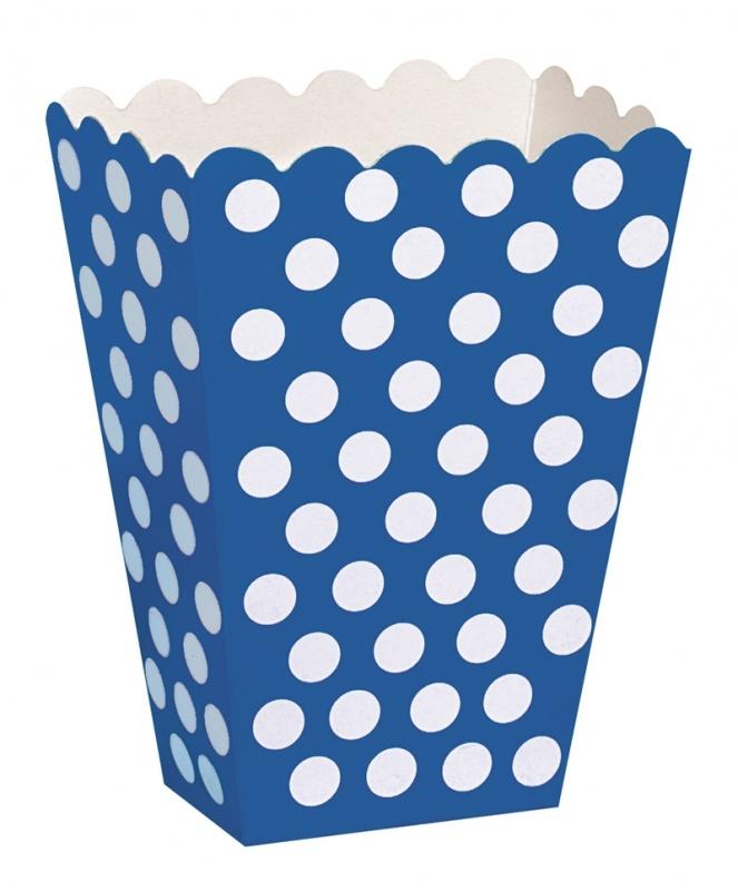 Pacote Pipocas Bolinhas Azul
