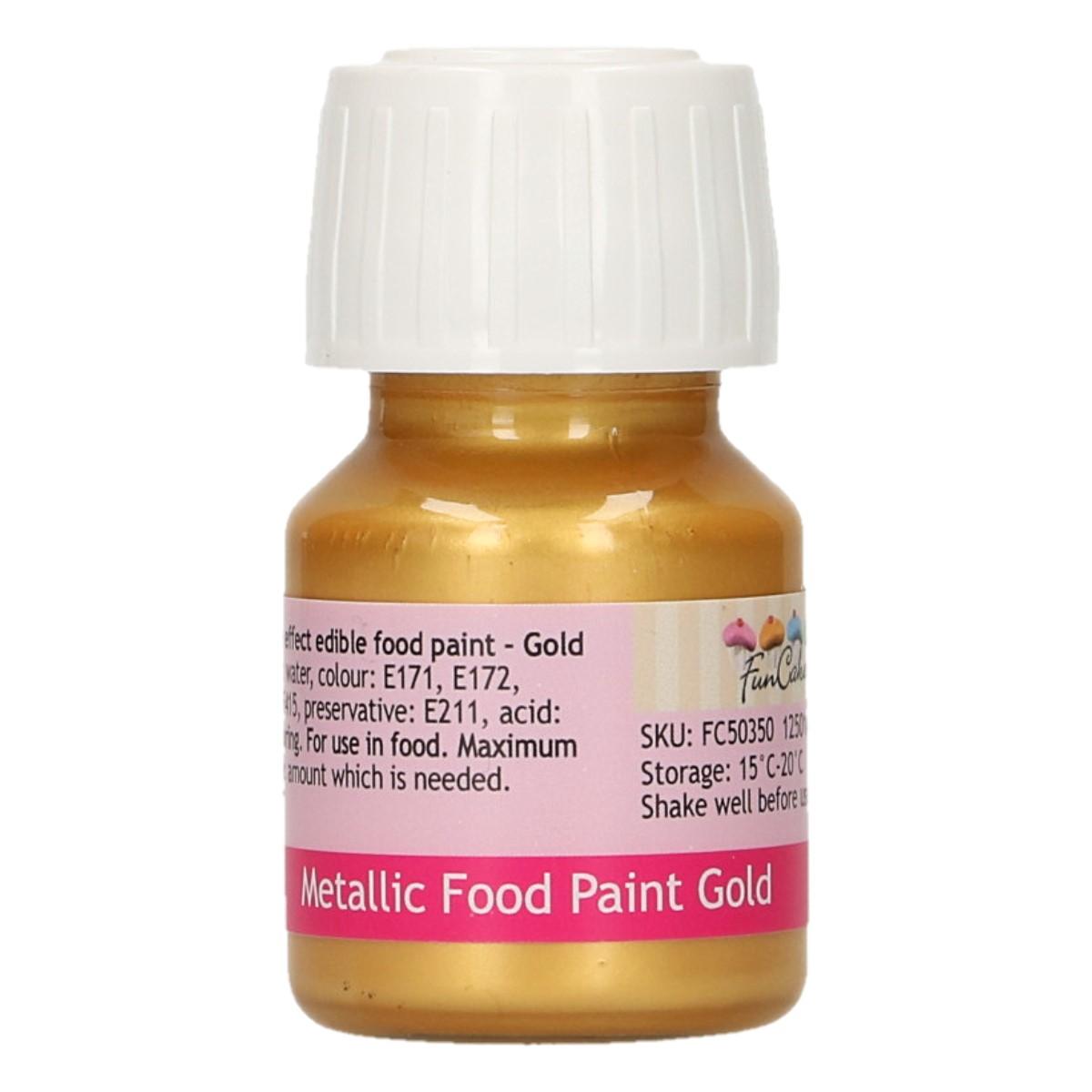 Tinta Comestível Dourado
