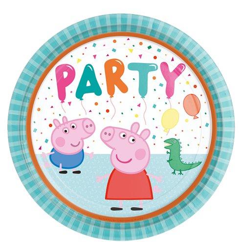 Pratos Porquinha Peppa Party