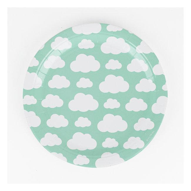 Pratos Nuvens Menta