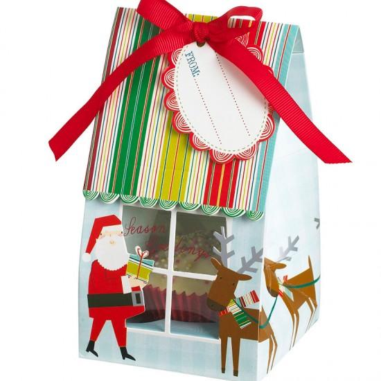 Conj. 4 Caixinhas de Oferta Natal