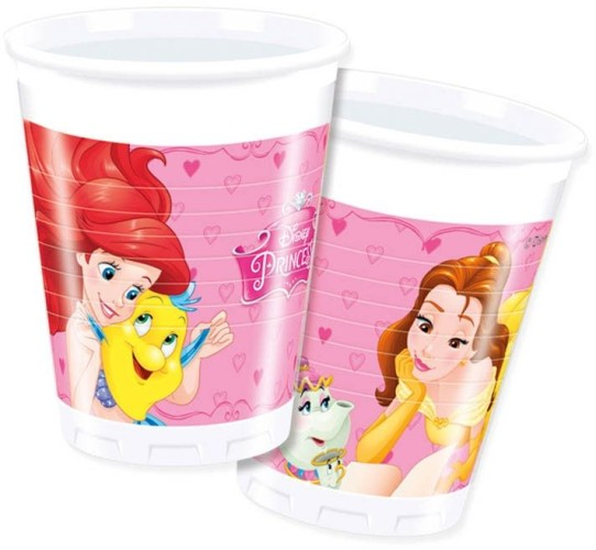 Copos Princesas Disney