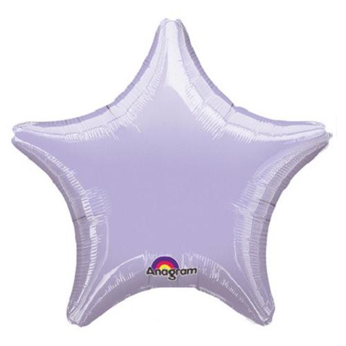 Balão Estrela Lilás