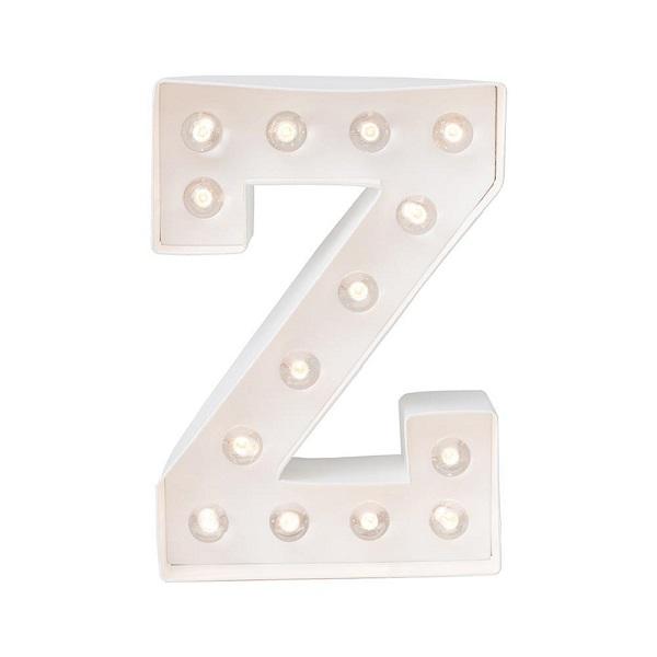 Letra Luminosa Z
