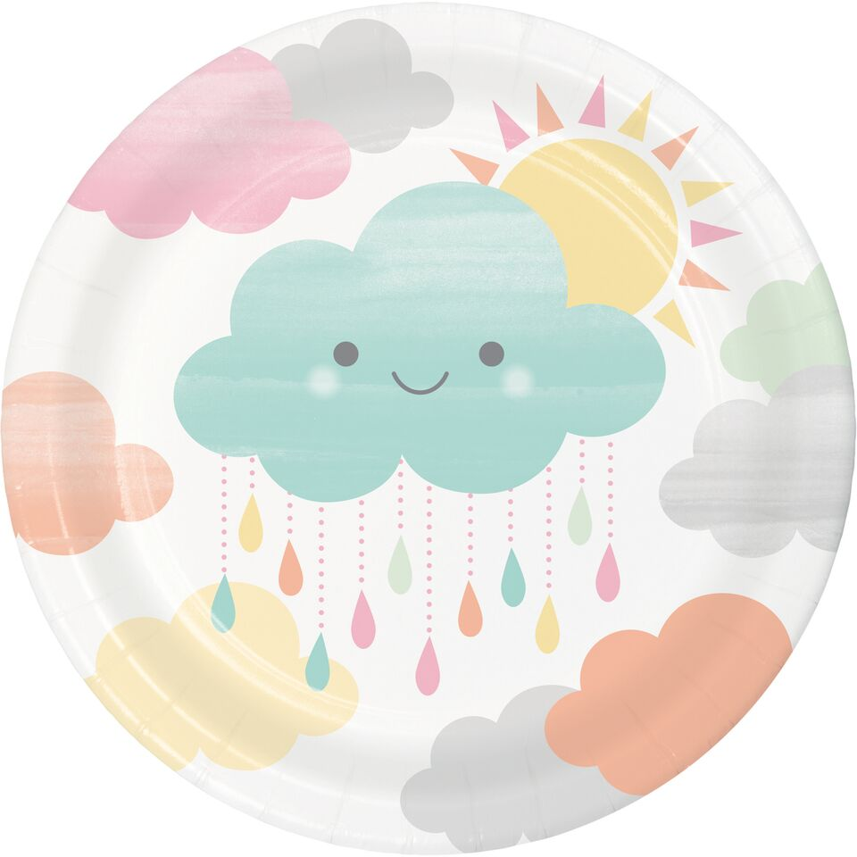 Pratos Nuvens Pequenos