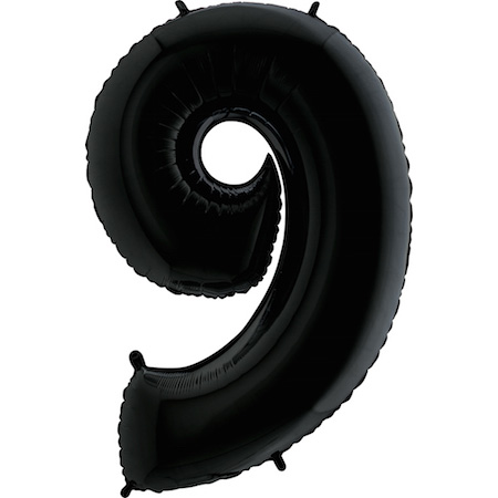 Balão Gigante 9 Preto