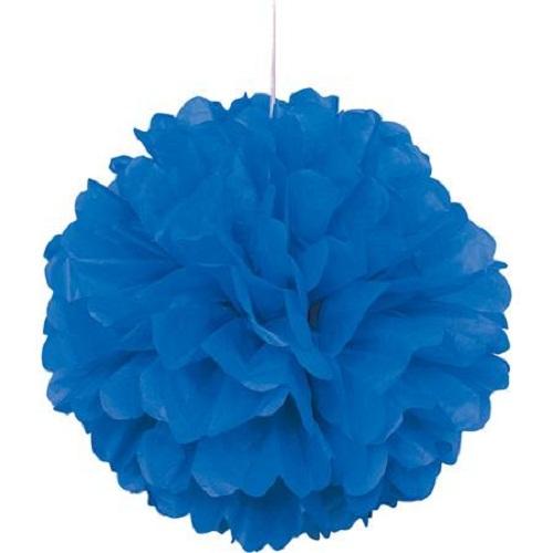 Pompom Grande Azul Escuro