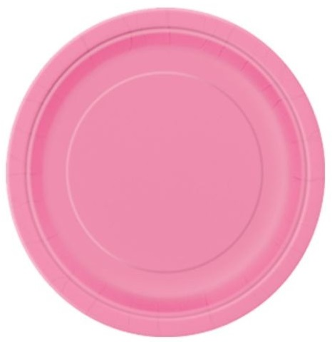 Pratos Rosa Grandes