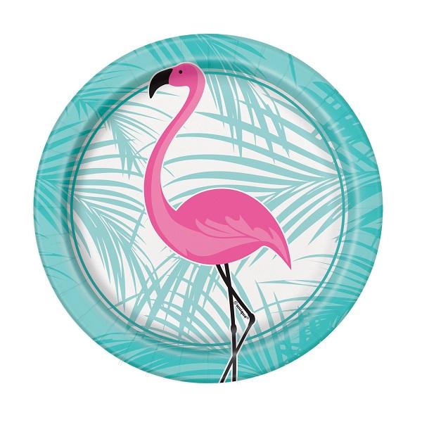 Pratos Flamingo Pequenos