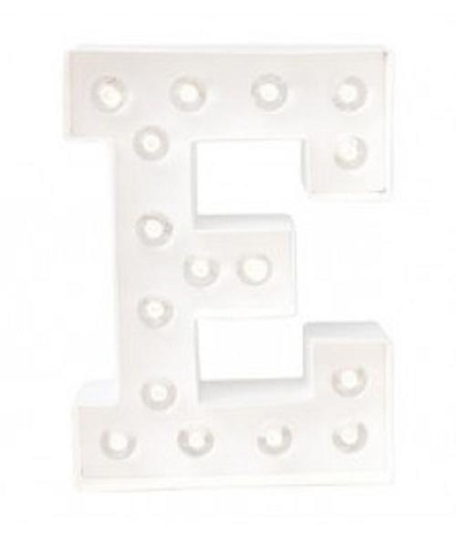Letra Luminosa E