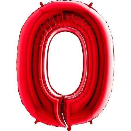 Balão Gigante Zero Vermelho