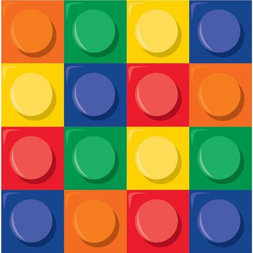 Guardanapos Lego