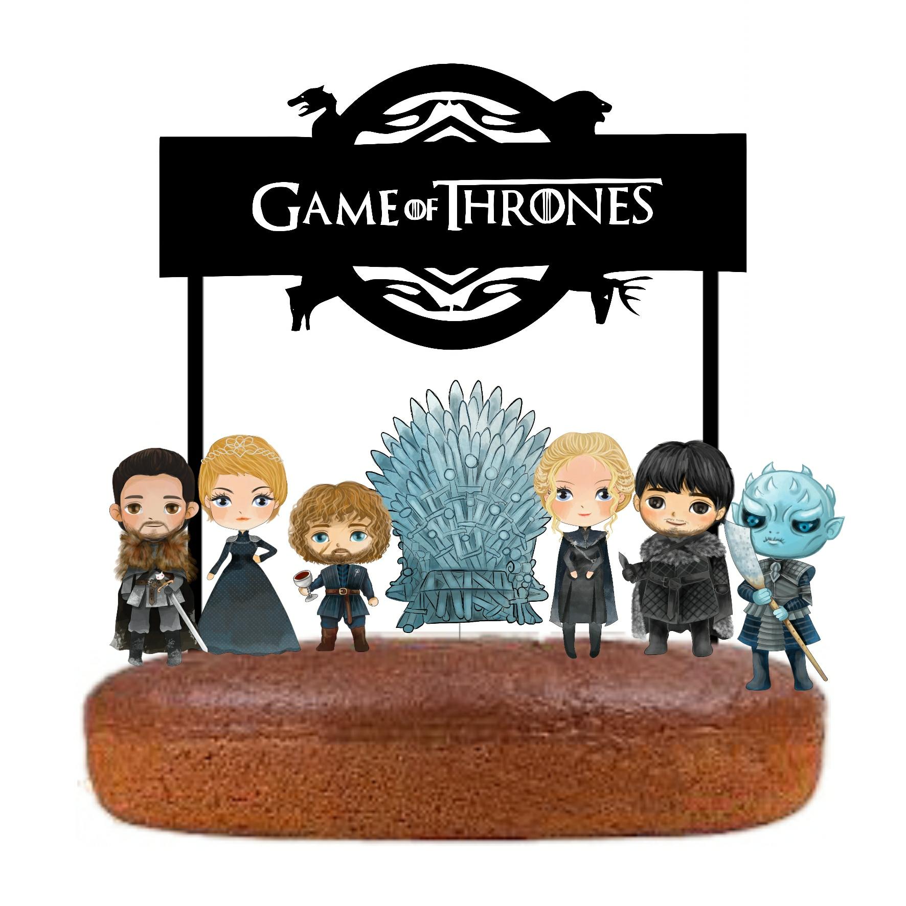 Topo Bolo Game of Thrones