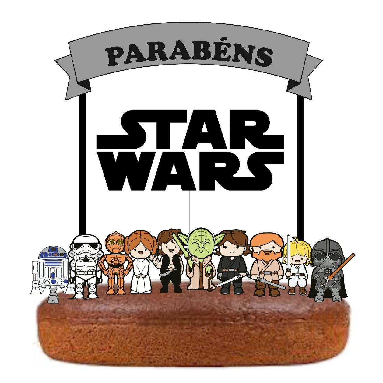 Topo Bolo Star Wars