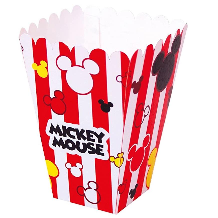 Conj. 12 Caixas Pipocas Mickey