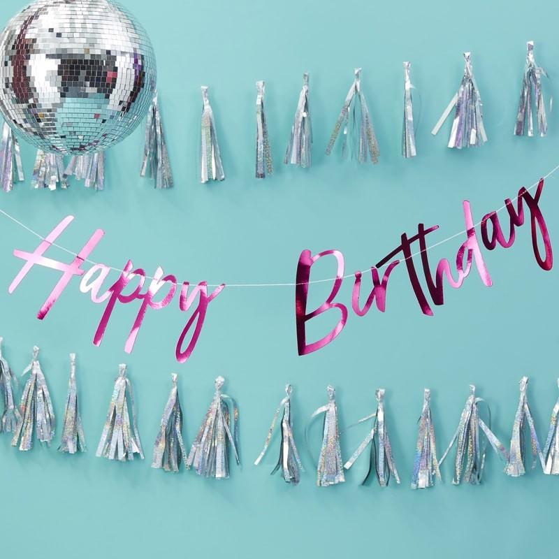 Grinalda Happy Birthday Rosa Forte
