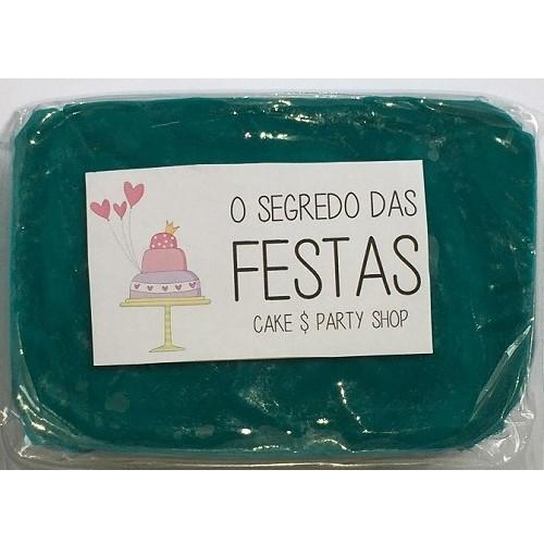 Pasta de Açúcar Azul Pavão