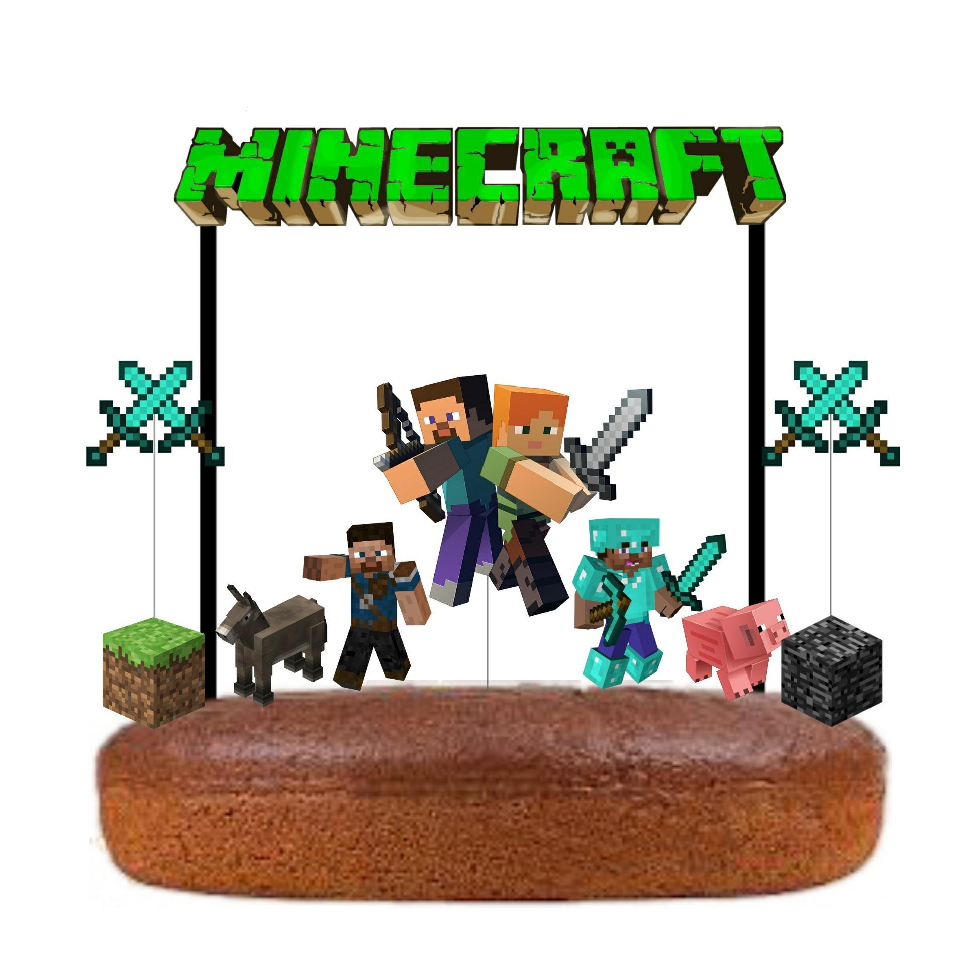 Topo Bolo Minecraft