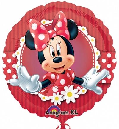 Minnie Vermelho Balão Médio
