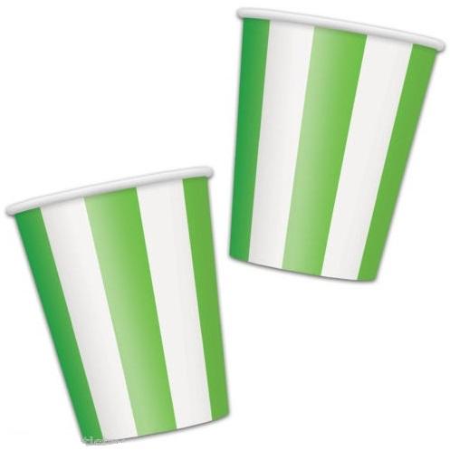 Copos Verde Riscas