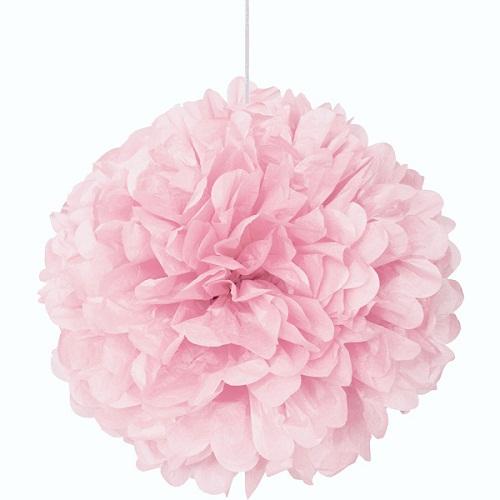 Pompom Grande Rosa Claro