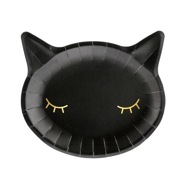 Pratos Gato Preto