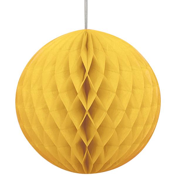 Bola de Papel Amarelo