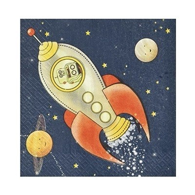 Guardanapos Espaço e Astronautas Grandes