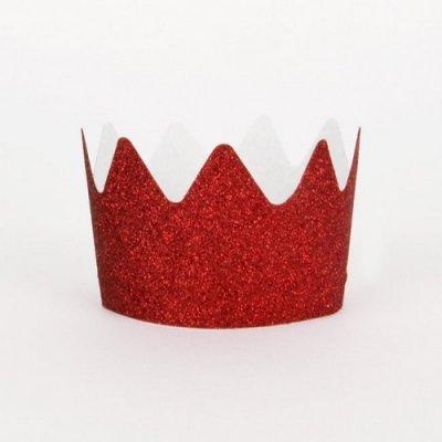 Conj. 8 Coroas Vermelho