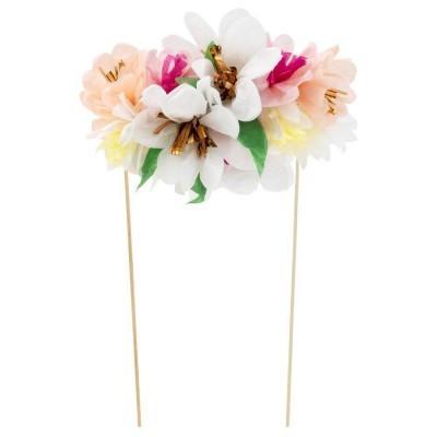 Topo Bolo Flores