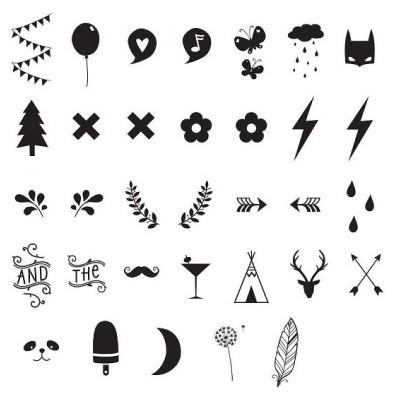Símbolos e Números para Lightbox